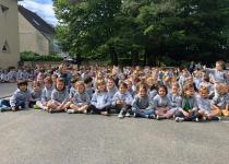 Image Messe de bénédiction avant les vacances d'été avec tous les enfants ! Juin 2021